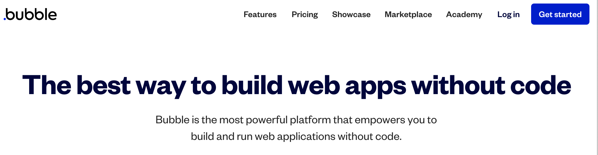 Building Apps with No Code